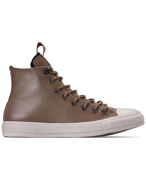 9d89fe8eeb8af1 ... Converse Men s Jack Purcell Desert Storm Leather Hi Casual Sneakers  from Finish ...