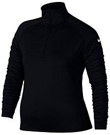 Nike Plus Size Pro Warm Half-Zip Training Top