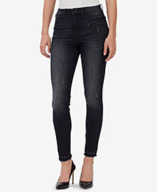 WILLIAM RAST Juniors' Sculpted High-Rise Skinny Jeans