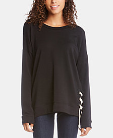 Karen Kane Lace-Up Sweater