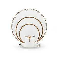 Dorian Gold 5 Piece Place Setting
