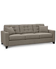 "Clarke II 93"" Fabric Estate Sofa - Custom Colors, Created for Macy's"