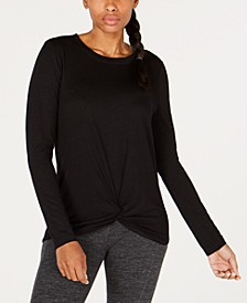 Knot-Front Top, Created for Macy's