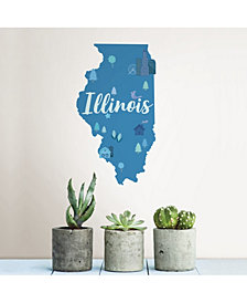 Illinois Wall Art Kit