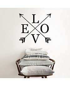 Follow Love Wall Quote