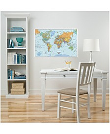 World Dry Erase Map