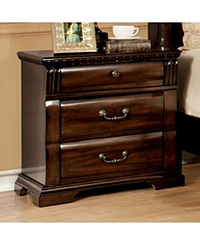 Transitional Night Stand, Cherry Finish