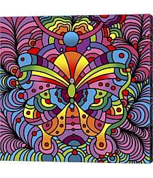 Pop Art Butterf by Howie Green