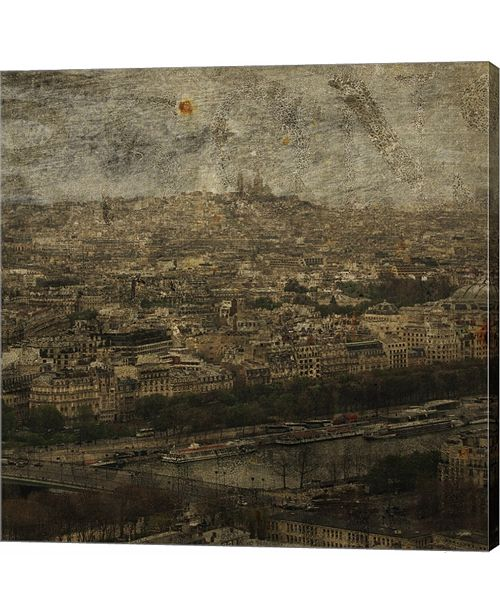 Metaverse Paris Skyline I by John W. Golden