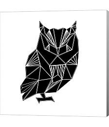 Black Owl Polyg by Lisa Kroll