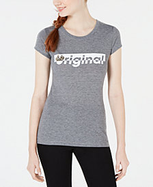 Hybrid Juniors' Disney® Leopard-Print Minnie Mouse T-Shirt