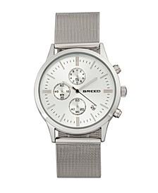 Quartz Espinosa Chronograph Silver Alloy Watches 42mm