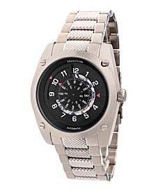 Automatic Daniels Silver Stainless Steel Watches 43mm