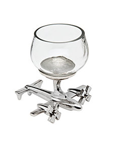 Godinger Airplane Shot Glass