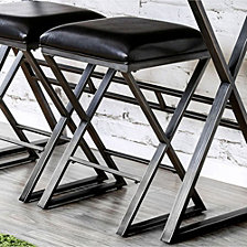 Industrial Bar Stool, Set Of 2