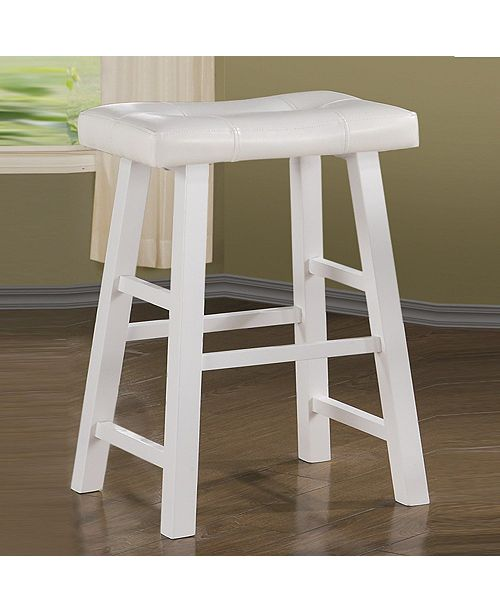 Incredible Rubber Wood Bar Stool With Rectangular Seat Set Of 2 Ncnpc Chair Design For Home Ncnpcorg