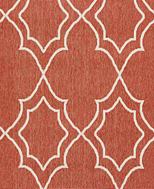 "Surya Alfresco ALF-9591 Rust 18"" Square Swatch"