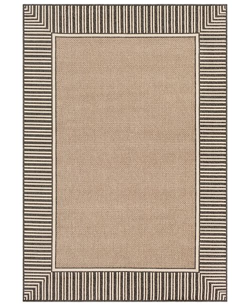 "Surya Alfresco ALF-9684 Camel 18"" Square Swatch"