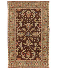 "Surya Caesar CAE-1009 Dark Brown 7'6"" x 9'6"" Area Rug"