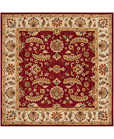 Surya Caesar CAE-1022 Dark Red 8' Square Area Rug