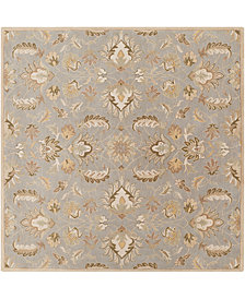 Surya Caesar CAE-1140 Medium Gray 8' Square Area Rug
