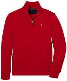 Polo Ralph Lauren Big Boys Half-Zip Supima® Cotton Pullover