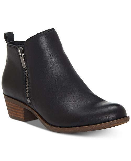 Lucky Brand Women's Basel Leather Booties