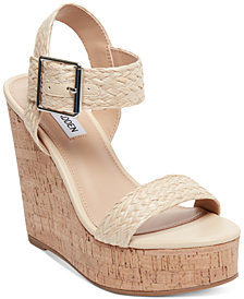 Steve Madden Splash Platform Wedge Sandals