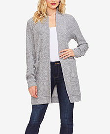 Vince Camuto Brushed Rib Knit Cardigan