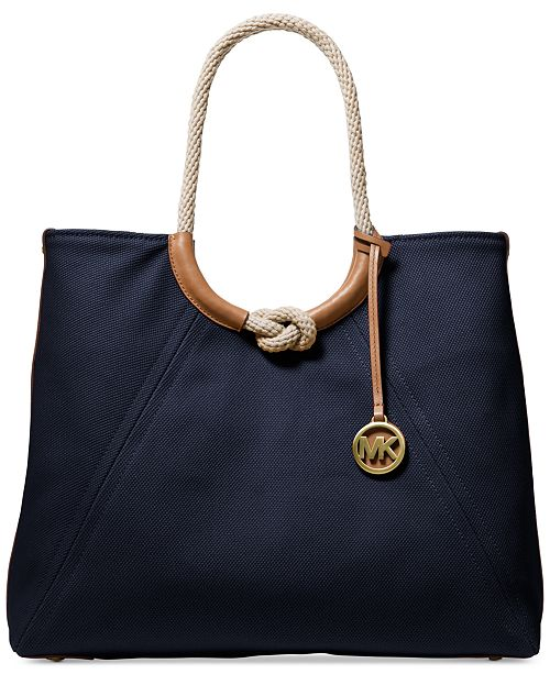 Michael Kors Isla Ring Shoulder Tote