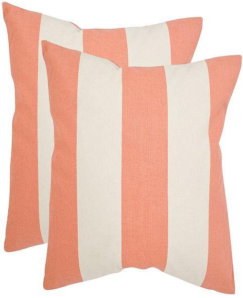 "Safavieh Sally 18"" x 18"" Pillow"