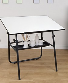 Offex Ultima Fold-A-Way Table - Black