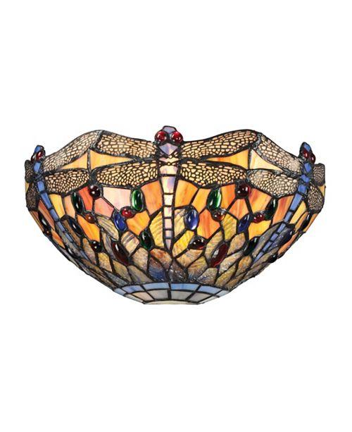 ELK Lighting Dragonfly Collection 1 light sconce in Dark Bronze