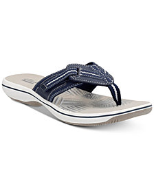 Clarks Collection Women's Brinkley Jazz Flip-Flops