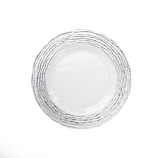 Jay Import Arizona Clear Charger Plate