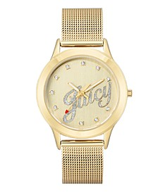 Woman's 1032CHGB Mesh Bracelet Watch