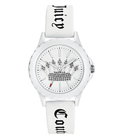 Woman's Juicy Couture, 1001WTWT Silicon Strap Watch