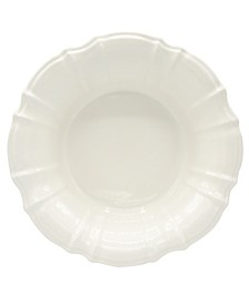 Chloe White Salad Bowl