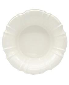 Euro Ceramica Chloe White Salad Bowl