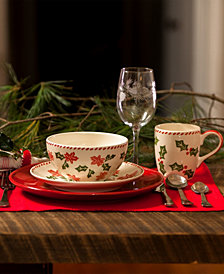 EuroCeramica Natal Dinnerware Collection