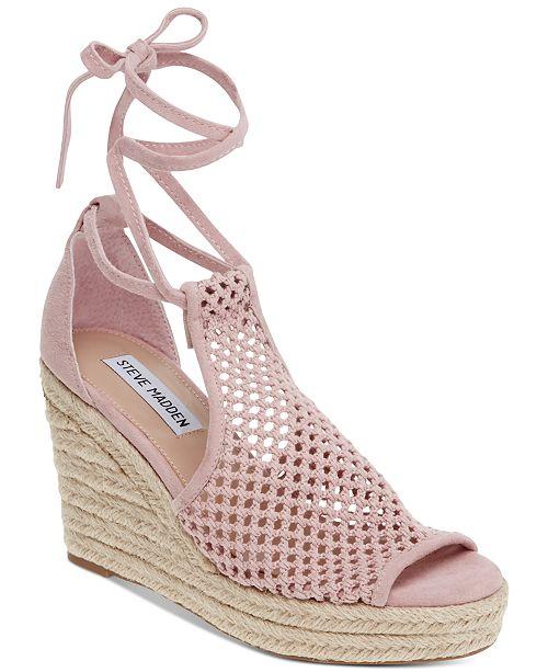 58ff027e8 Steve Madden Women's Bambino Wedge Sandals & Reviews - Sandals ...