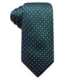Club Room Men's Harkness Classic Dot Silk Tie, Created for Macy's