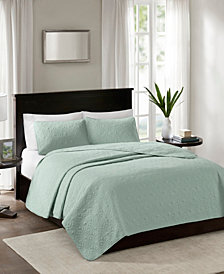 Madison Park Quebec 3-Pc. Full/Queen Coverlet Set