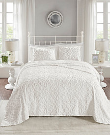 Madison Park Sabrina 3-Pc. King/California King Tufted Cotton Chenille Bedspread Set