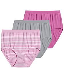 Jockey Comfies Micro Brief Underwear 3 Pack 3328