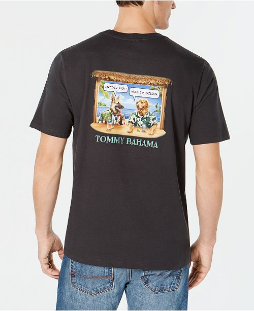 544366c4 Tommy Bahama Men's I'm Golden Graphic T-Shirt & Reviews - T-Shirts ...