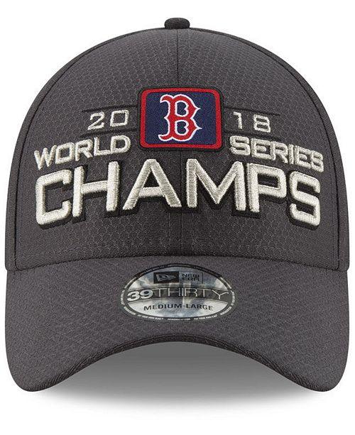 b8dc29c93 ... New Era Boston Red Sox World Series Locker Room 39THIRTY Stretch Fitted  Cap 2018 ...
