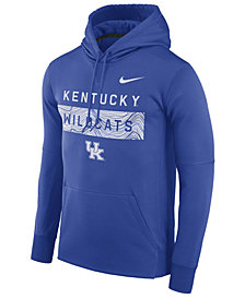 Nike Men's Kentucky Wildcats Staff Pullover Hooded Sweatshirt