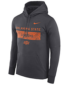 Nike Men's Oklahoma State Cowboys Staff Pullover Hooded Sweatshirt
