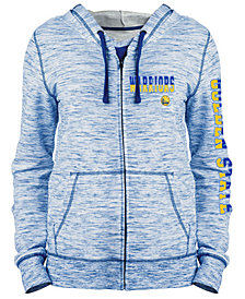 5th & Ocean Women's Golden State Warriors Space Dye Hoodie